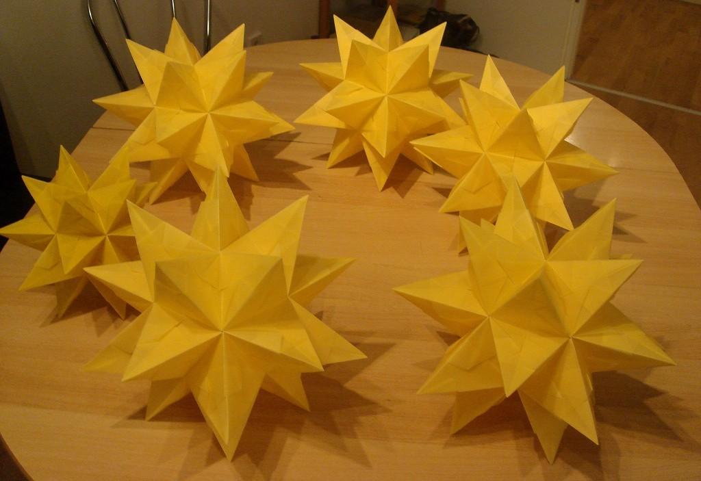 すべての折り紙 星の作り方 折り紙 : ... 用 に 大量 に 星 を 折り紙 星